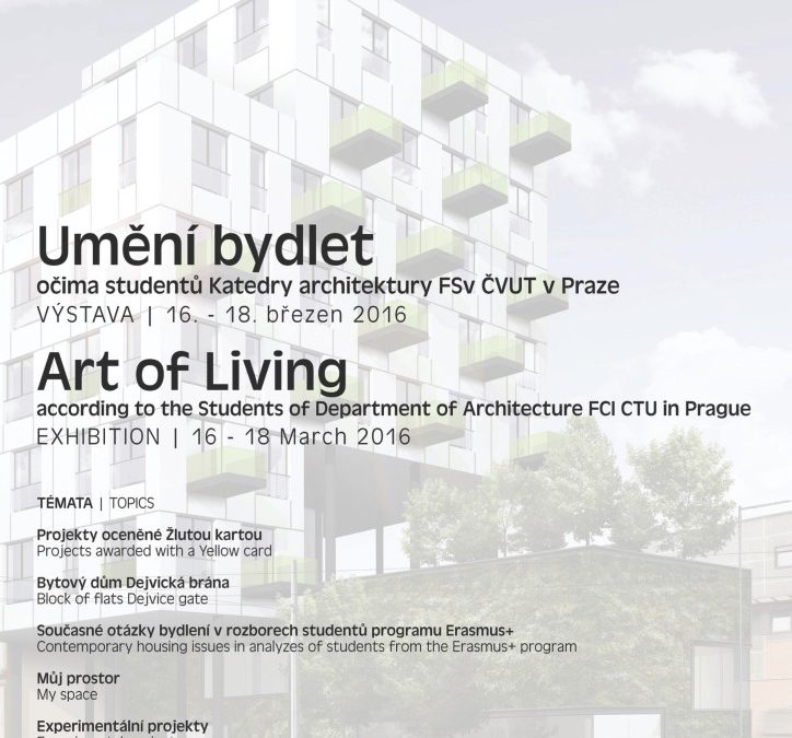 Výstava Umění bydlet
