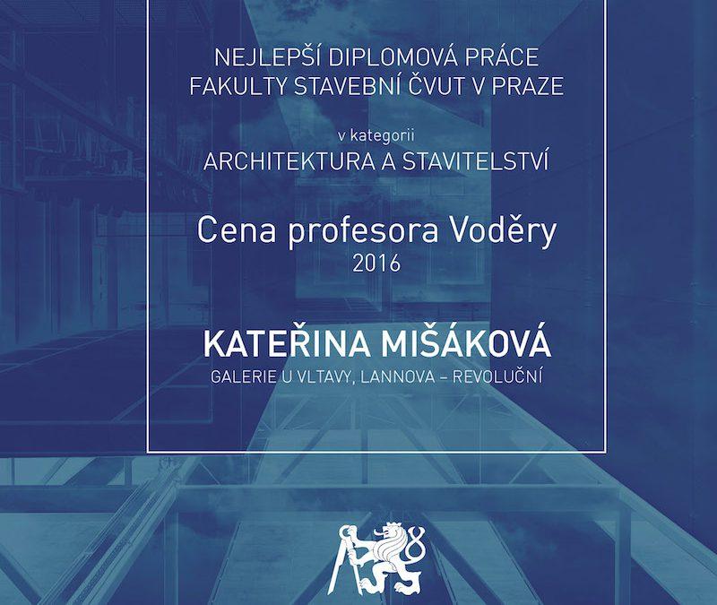 Cena prof. Voděry