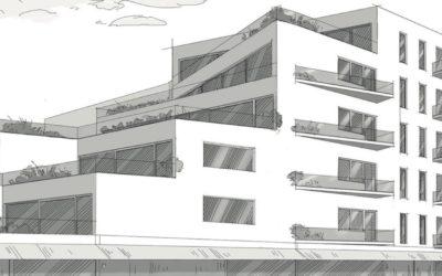 Výstava Bytové domy Libeň