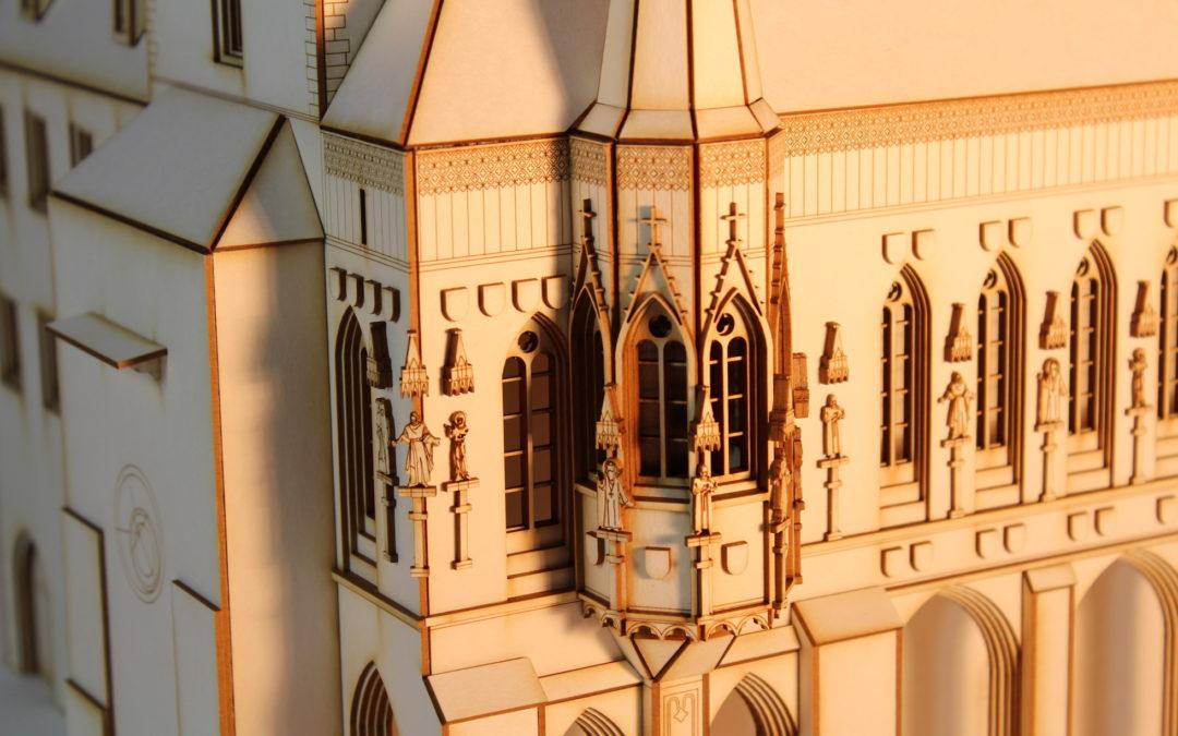 Model Staroměstké radnice