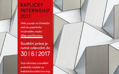 Kaplicky Internship – soutěž