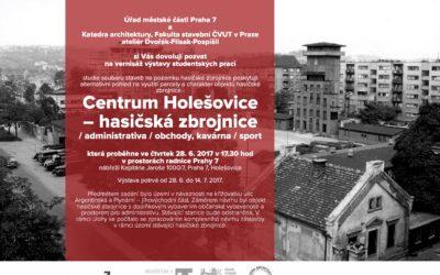 Výstava studentských prací Centrum Holešovice – Hasičská zbrojnice