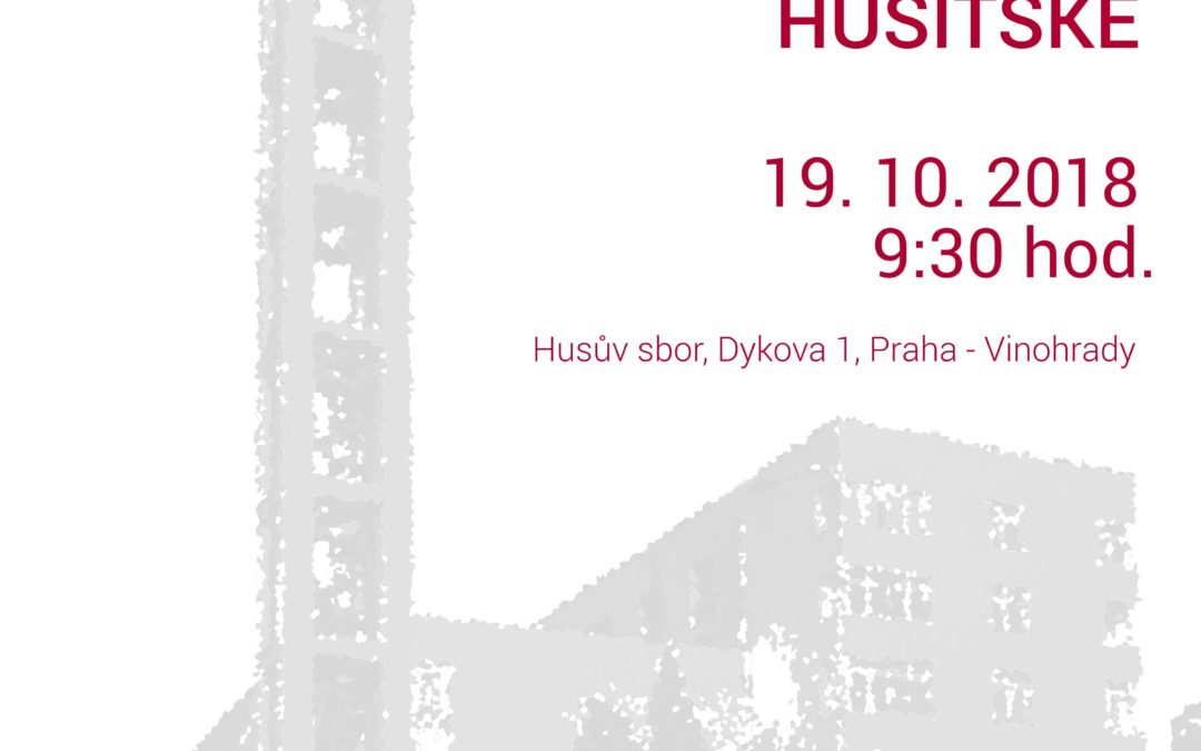 Odborná konference Sbory Církve československé husitské