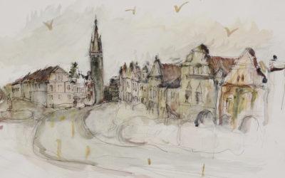 Výstava kreseb Telč'20