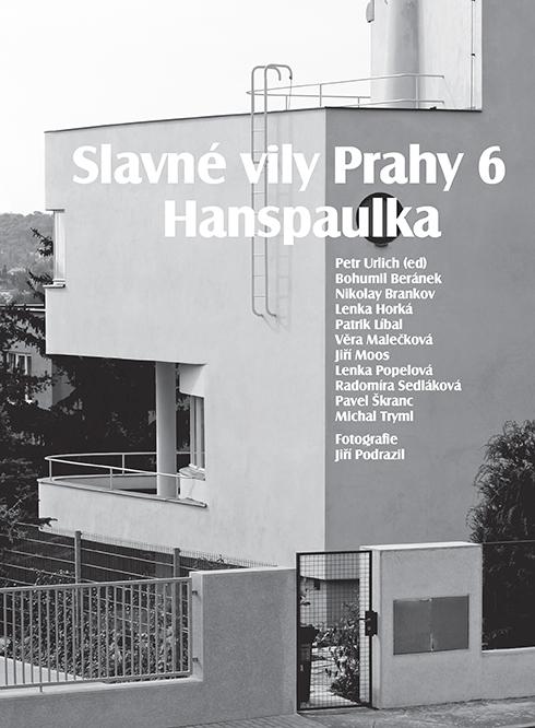 NOVÁ KNIHA SLAVNÉ VILY PRAHY 6-HANSPAULKA