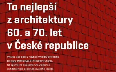 Virtuálně: To nejlepší z architektury 60. a 70. let v České republice